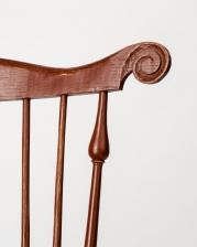 Fan Back Side Chair Detail