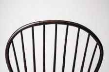 Loop Back Side Chair Detail