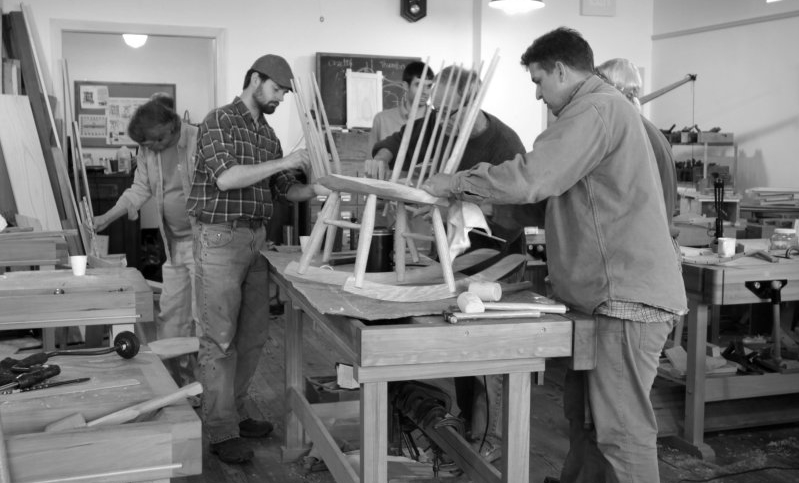 photo of chair class