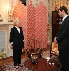 Elia meeting the NC Governor