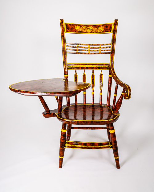 Reproduction Writing Arm Fancy Chair
